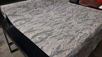 "Abu Digital Tiger Stripe Camouflage Stretch Gore Tex® Nylon Fabric 56""W Military"
