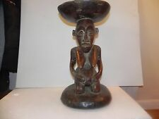 "Arts of Africa - Songye - Stool - DRC - Congo - 12"" X 19.5"""