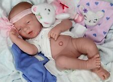 "AWW! ""LITTLE MOUSE""! Berenguer Newborn Reborn Baby Girl Pacifier Doll + Extras"