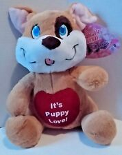Puppy Love Plush Dog 12 inch Kellytoy Sugar Loaf Stuffed Animal