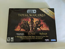 Total War: Eras Box Set Strategy Game PC Total War Rome Shogun New in Sealed Box