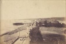 Panorama de Nice Côte d'Azur France VintagePhotographie sur Papier salé ca 1880