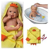 ASHTON DRAKE Linda Murray Rub-A-Dub-Dub Baby Doll With Bath Accessories LAST ONE
