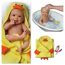 ASHTON DRAKE Linda Murray Rub-A-Dub-Dub Baby Doll With Bath Accessories