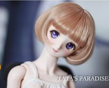 1 6 6-7 Dal Msd BJD YOSD Wig LUTS DOC BB supper Dollfie Doll Brown Girl Toy wigs