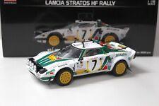 1:18 Sunstar Lancia Stratos HF Safari Rally 3rd place new en Premium-modelcars