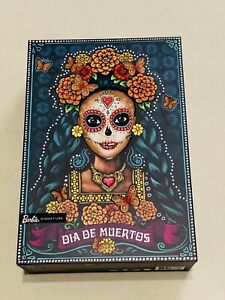 🔥RARE BARBIE DIA DE LOS MUERTOS DOLL 2019 DAY OF THE DEAD HALLOWEEN SHIPS NOW!