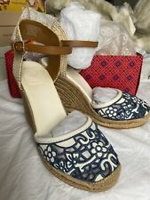Tory Burch - Lucia Lace Espadrille Wedges - UK6.5/US9 - BRAND NEW