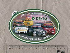 Aufkleber/Sticker DEKRA DTM Alfa Romeo Mercedes Opel Calibra