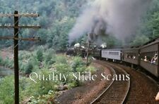 Orig. Slide CP 1286 Steam Special Triechler's, PA on 9-67