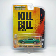GREENLIGHT HOLLYWOOD KILL BILL 1979 PONTIAC FIREBIRD TRANS AM GREEN MACHINE VHTF