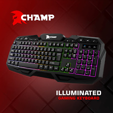 CHAMP Illuminated Gaming Keyboard - kimstore COD