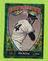 2013 Panini Cooperstown Green Crystal - Willie McCovey (#76)