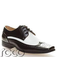 Niños Zapatos Vestido, de jazz, Blanco y Negro Zapatos, Bugsy Malone