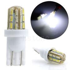 2pcs plaque Lumière d'immatriculation Xenon 24-SMD T10 168 194 3014 Ampoules LED