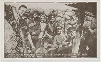 WWI mint postcard LONDON ROYAL FUSILIERS PROUD AFTER THIER SUCCESS AT ST. ELOI