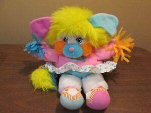 "1987 Vintage POPPLES Plush Doll CHEERLEADER 11"" Darling!"