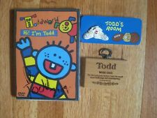 Lot of Hi, I'm Todd DVD 2005 New Sealed and Two Todd Wall Plaques