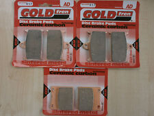SUZUKI GSX-R 750 ( WP ) GSXR750 1993 > FULL SET SINTERED HH BRAKE PADS *GOLDFREN