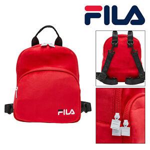 Fila Kariam Unisex Girls Boys Travel Sports School Mini Backpack Rucksack Bag