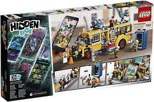 LEGO Hidden Side Autobús de Intercepción Realidad Aumentada APP bus customizado