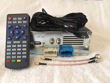 BMW E46 E39 E38 E53 E83 E85 Digital Freeview TV Tuner Module USB with IR Remote