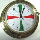 """Victory BA1650FS Quartz 6"""" Clock """"Columbus"""" Radio Silence Sectors 135-939"""