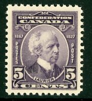 Canada 1927 Confederation 5¢ Scott #144 MNH H806