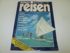Abenteuer & Reisen - Mai 05 / 1987 - Südsee, Burma, New York, Mauretanien