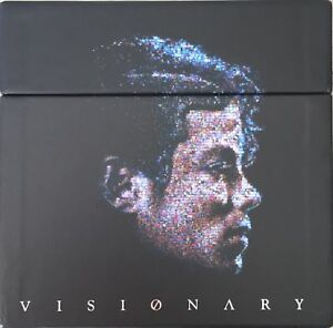 Michael Jackson VISIONARY Komplett Box - 20 Dual Disc CD & DVD Single - NEU