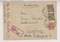 All.Bes./Gemeinsch.Ausg. Mi. 928(2),951, Not-R-Fallersleben,OWS, 25.5.48