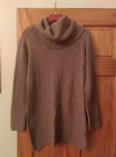 AKIRA SWEATER DRESS TUNIC SIZE M/L TAUPE NWT