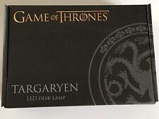 Game Of Thrones Targaryen House LED Desk Lamp Light Exclusive Dragons New USB