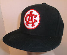 CALIFORNIA ANGELS Hat Cap Fixed Size 7 Stall & Dean Black Red White