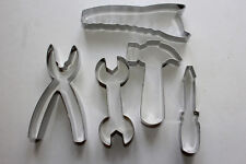 Tool Kit 5pce Stainless Steel Cookie Cutter Pack