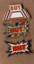 lot de 3 pin's - Grande enseigne But (tous différents)
