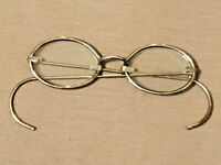 """18th / EARLY 19th century WOMEN""""S OVAL BRASS Spectacles Antique Eye Glasses"""