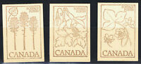 CANADA 1977 - 82 10 BOOKLETS OF STAMPS
