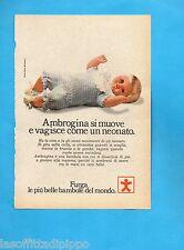 TOP973-PUBBLICITA'/ADVERTISING-1973- FURGA - BAMBOLA AMBROGINA