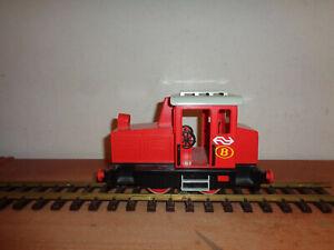 LGB/Playmobil  rote Diesellok