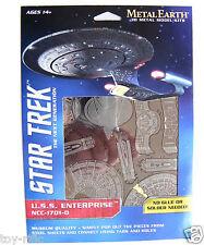 METAL EARTH STAR TREK la prossima generazione USS Enterprise NCC-1701-D - NUOVISSIMO