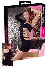 Sexy Mini Robe Noir, hot, sexy, robe de soirée, Dancewear Taille S/L NEUF