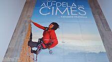 AU-DELA DES CIMES !!  catherine d'estivelle affiche cinema montagne , alpiniste