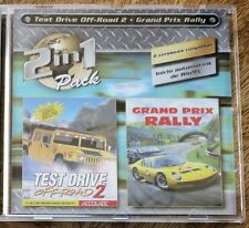 Test drive hors route 2 et grand prix Rally (PC CD-ROM).... off road tester