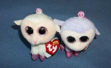 Ty Basket Beanie Lamb Lilli+ Beanie Boo Lamb Twinkle Collectible Key Clip Nwt
