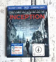 Inception (Blu-ray + DVD + Digital Copy) 2010, 3-Disc Set Leonardo Dicaprio