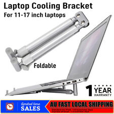 "Laptop Stand Cooling Folding Holder Riser Aluminum For 11-17"" MacBook Pro Air AU"