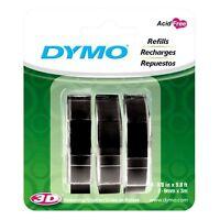Dymo 1741670 Embossing Tape Refill for Express Label Maker (3 Pack)