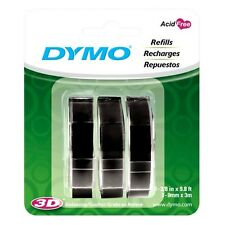 Dymo 1741670 Embossing Tape Refill for Express Label Maker (3 Pack)
