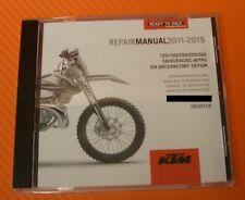 Werkstatthandbuch Reparaturanleitung KTM 125 / 250 / 300 SX / XC / EXC SIX DAYS